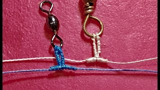Guide Tying GINGER  Knot - Ncaoai47 Knot  - DIY Fishing Knots