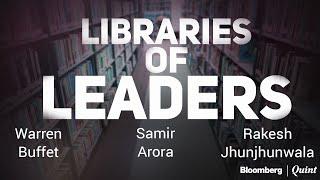 Libraries Of Leaders: How Warren Buffett, Rakesh Jhunjhunwala, Samir Arora Learned To Invest