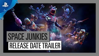 Space Junkies - Full Metal Piano - Release Date Trailer | PS VR