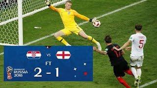 Piala Dunia 2018 : Kroasia vs Inggris | 2-1 | Semi Final