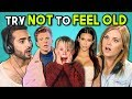 ADULTS REACT TO TRY NOT TO FEEL OLD CHALLENGE #2 (ft. Eliza Taylor)