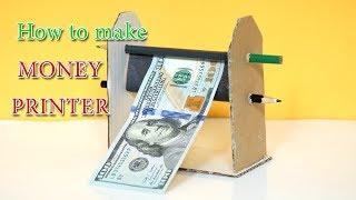 How to make money printer machine | Diy printer machine