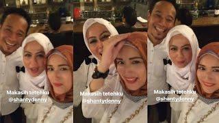 Tak Sengaja Ciuman Bibir, Ekspresi Istri Denny Cagur dan Adelia Pasha Bikin Netter Ngakak