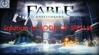 ☩ Solution To Book Of Spells - Fable Anniversary ☩