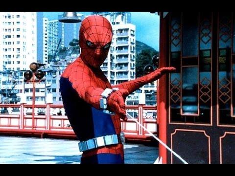 O homem aranha anos 70