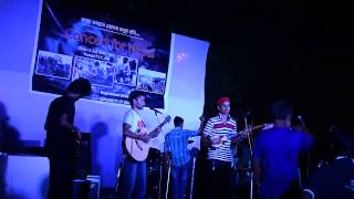 Concert for Nepal by Gaan Poka at TSC, University of Dhaka.