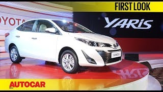 Toyota Yaris | Auto Expo 2018 | First Look | Autocar India