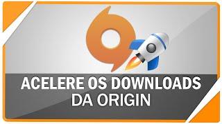Como acelerar os downloads de jogos da Origin