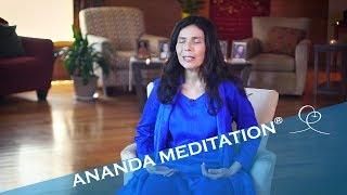 Guided Ananda Meditation