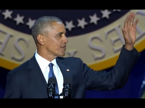 Obama Farewell Speech FULL Event ABC News