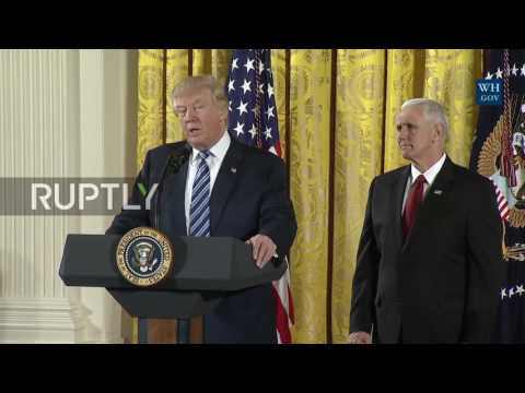 USA: Trump discusses Georgia storms and plans to renegotiate NAFTA
