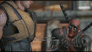 Deadpool: The Game - Meeting Cable for the first time