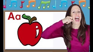 Phonics Song for Children | Alphabet Song | Letter Sounds | Signing for babies | ASL | Patty Shukla