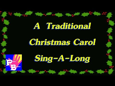 Xxx Mp4 Traditional Christmas Carol Sing A Long With Songsheet Mp3 ➜Pianobusker 3gp Sex