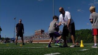 Vikings' Rudolph Hosts 5th Annual Football Camp