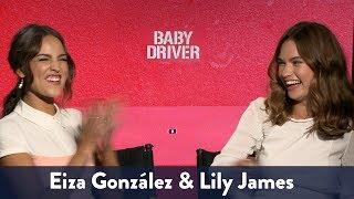 Lily James & Eiza Gonzalez Singing!   KiddNation