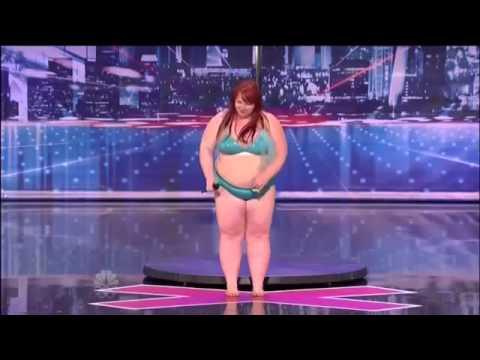 BiiiiiiiiiiiiiiiiG GIRL POLE DANCES ON AMERICAS GOT TALENT