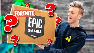 Unboxing A Fortnite Package from Epic Games!