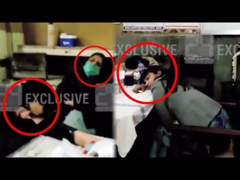 Doctors of Multan Nishtar Hospital sleeping during duty hours