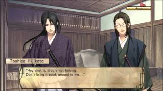 [Hakuouki: Stories of the Shinsengumi] Walkthrough - CootB Heisuke Route pt 2 (No Commentary)