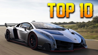 Top 10 Most Expensive Cars In The World 2017 - Most Expensive Super Cars