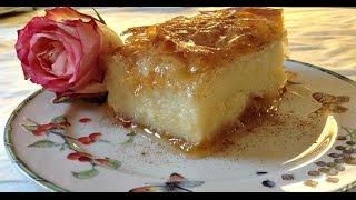 Galaktoboureko - Greek Custard Dessert Made Easy