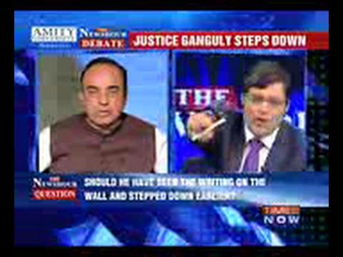 Best of Subramanian Swamy vs Arnab Goswami!! #GangulyDebate