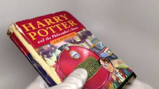 Harry Potter and the Philosopher's Stone, HARDCOVER, First Printing, HOLY GRAIL, J.K. Rowling
