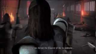 Dynasty Warriors 7 Jin Cutscene: The Three Kingdoms End