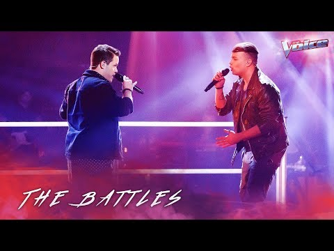 The Battles: Ben Clark v Nathan Brake 'I Want To Know What Love Is' | The Voice Australia 2018