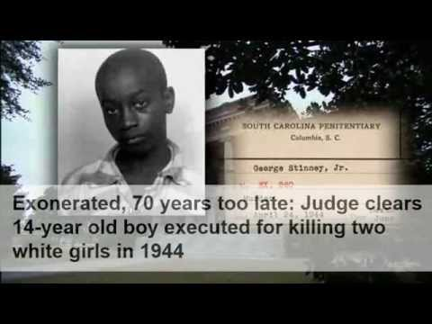Xxx Mp4 Judge Overturns Conviction Of 14 Yo Executed In 1944 Finally George Stinney Exonerated 3gp Sex