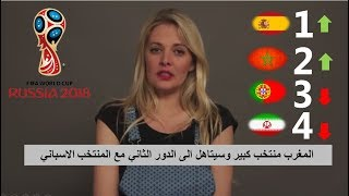 """شاهد ماذا قالت الصحفية والمحللة الفرنسية المشهورة """"المغرب سيتاهل وسيخرج رونالدو من المنافسة ..."""""""