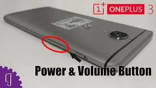 OnePlus 3 Power and Volume Button Flex Repair Guide