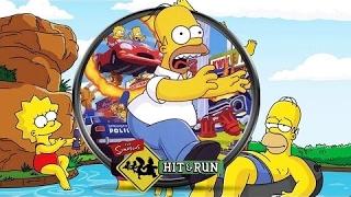 ⒽLos Simpson Hit and Run Todas las Cinematicas Español | La Pelicula Completa 1080p