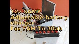 12v 3AMP Adjustable Battery Charger For 7AH To 30AH. YT- 65