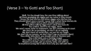 Yo Gotti - Rake It Up ft. Nicki Minaj and Too Short - Lyrics