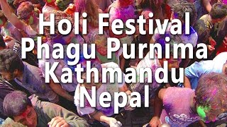 Holi Festival in Kathmandu