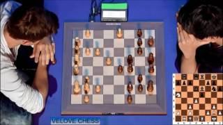 MAGNUS CARLSEN VS WESLEY SO - BLITZ CHESS 2016