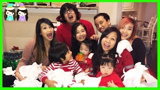 Christmas Day 2017 Opening Presents with Princess T and Ryan | Holiday Family Vlog