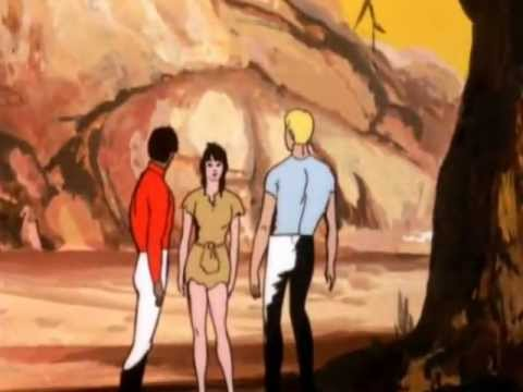 De volta ao planeta dos macacos EP 01.Chamas do destino. 1975 dublado
