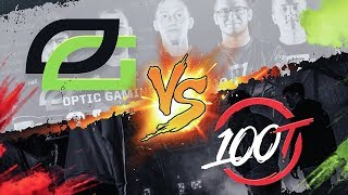 OPTIC GAMING VS 100 THIEVES WAGER MATCH!! (COD: BO4)