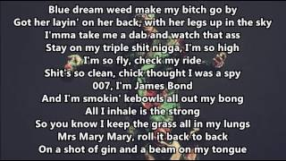 Juicy J - Miss Mary Mack Ft: August Alsina & Lil Wayne LYRICS