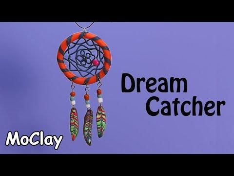 DIY DreamCatcher - Polymer clay tutorial