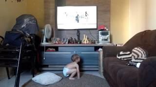 Bebê dançando bum bum granada coreografia Daniel Saboya
