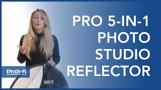 5-in-1 Photo Studio Collapsible Reflector | Phot-R