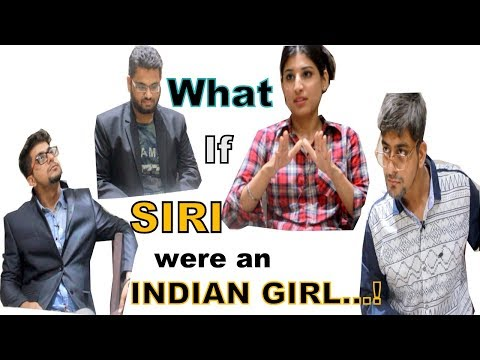 Xxx Mp4 WHAT IF SIRI WERE AN ACTUAL INDIAN GIRL Funny IPHONE X Hindi OFFICIAL By Karan Ddhall 3gp Sex