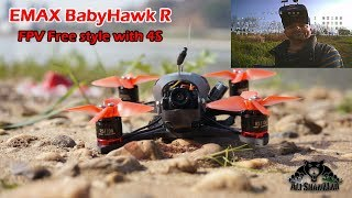 Emax BabyHawk R Racing Edition FPV Free Style with 4S Battery