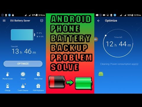 How to solve android phone battery backup problem | Top Battery Saving Tips & Tricks Android |