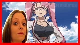 BATTLE BREASTS ENGAGE! Monica Reacts to DEFI-NITIVE Anime On CRACK  (Reaction)