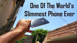 World's slimmest mobile phone ever 2018 | Micromax Canvas Sliver 5 Q450 Black Colour